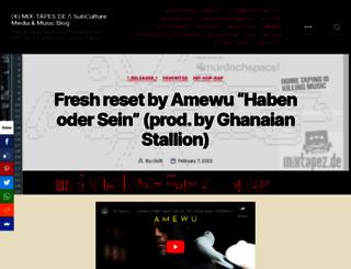 mix-tapes.de screenshot