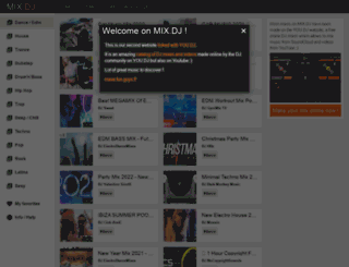 mix.dj screenshot