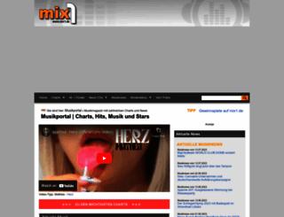 mix1.de screenshot