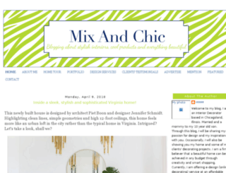 mixandchic.com screenshot