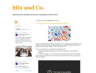 mixandco.blogspot.com screenshot