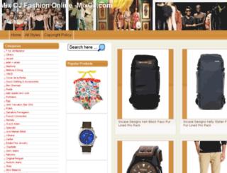 mixcj.com screenshot