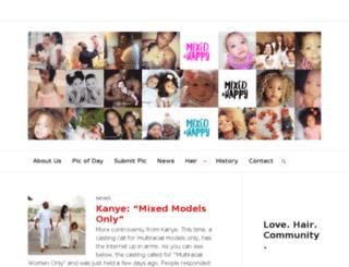 mixedandhappy.com screenshot