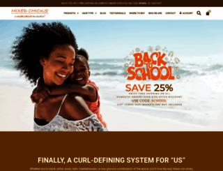 mixedchicks.net screenshot