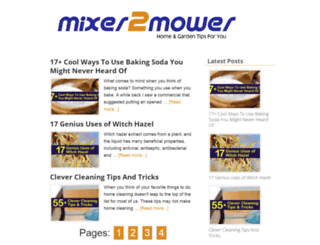 mixer2mower.com screenshot