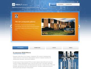 mixers.inbalt.ru screenshot