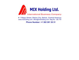 mixholding.com screenshot