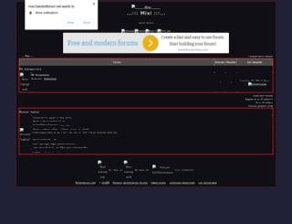 mixi.yetkinforum.com screenshot