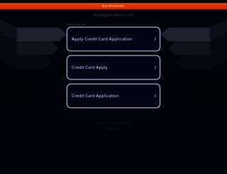 mixiapplication.com screenshot