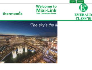mixilink.thermomix.co.nz screenshot