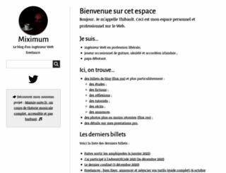 miximum.fr screenshot