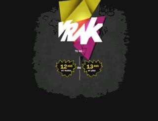 mixmania.vrak.tv screenshot