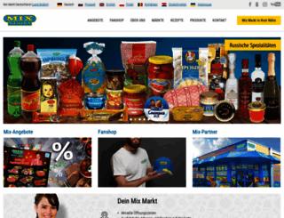 mixmarkt.eu screenshot