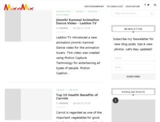 mixnmix.com screenshot