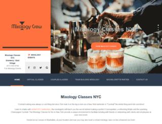 mixologyclassesnyc.com screenshot