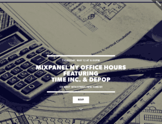 mixpanelnytimedepop.splashthat.com screenshot