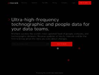 mixrank.com screenshot