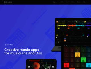 mixvibes.com screenshot