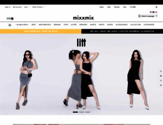 mixxmix.us screenshot