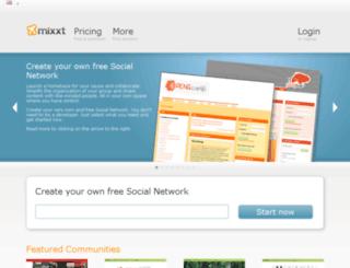 mixxt.com screenshot