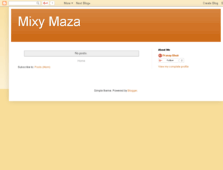 mixymaza.blogspot.in screenshot