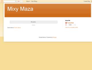 mixymaza.blogspot.in screenshot