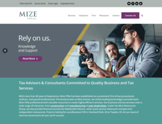 mizehouser.com screenshot