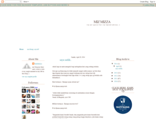 mizmizza.blogspot.com screenshot