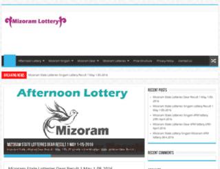 mizoramlotteriesonline.com screenshot