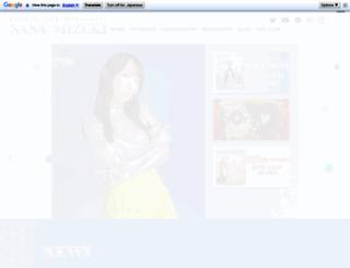 mizukinana.jp screenshot