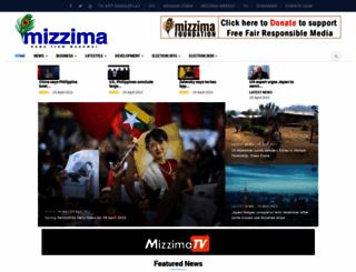 mizzima.com screenshot