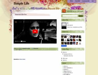 mj-simplelife.blogspot.com screenshot