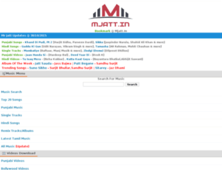 mjatt.in screenshot