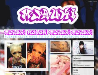 mjauki.tumblr.com screenshot
