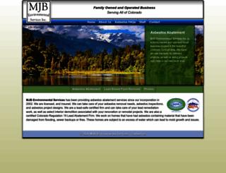 mjbenvironmental.com screenshot