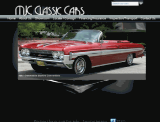 mjcclassiccars.com screenshot