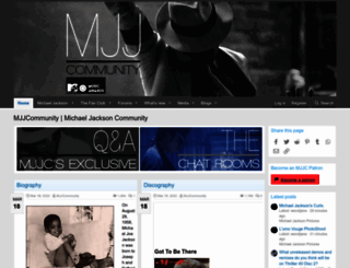 mjjcommunity.com screenshot