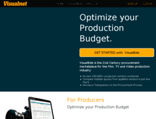 mjjproductions.visualnet.com screenshot
