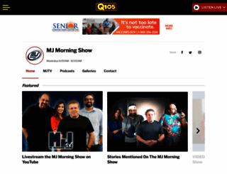 mjmorningshow.com screenshot