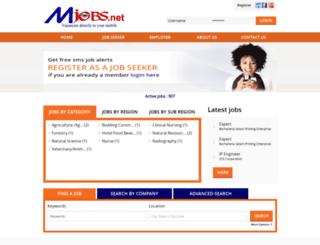 mjobs.net screenshot