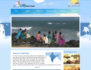 mjtoursandtravel.com screenshot