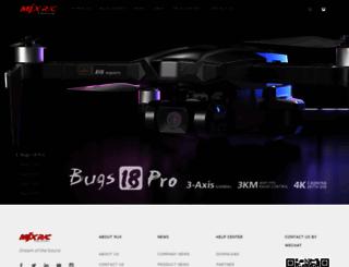 mjxtoys.com screenshot