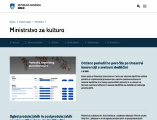 mk.gov.si screenshot