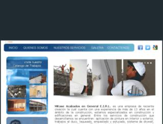 mkaseperu.com screenshot