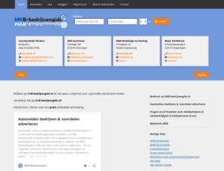 mkb-bedrijvengids.nl screenshot