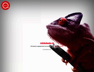 mkbdeals.nl screenshot