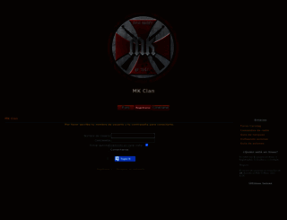 mkclan.foroactivo.com screenshot