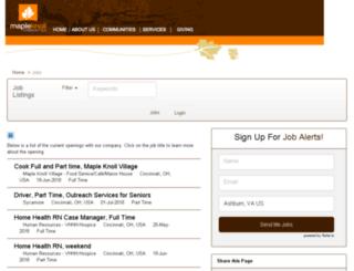 mkcommunities.applicantpro.com screenshot