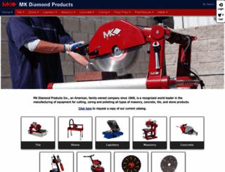 mkdiamond.com screenshot