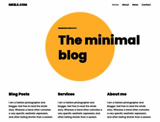 mkels.com screenshot
